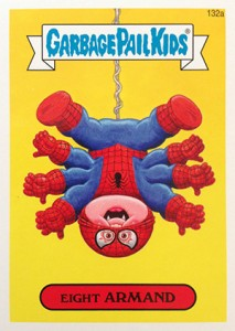 Know the 2014 Topps Garbage Pail Kids Series 2 Art Variations 9