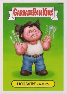 2014 Topps Garbage Pail Kids Series 2 122c Howlin James