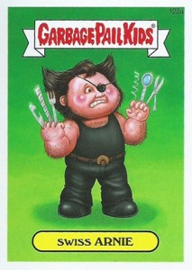 2014 Topps Garbage Pail Kids Series 2 Art Variations 122a Swiss Arnie