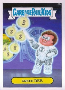Know the 2014 Topps Garbage Pail Kids Series 2 Art Variations 6