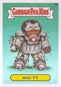 Know the 2014 Topps Garbage Pail Kids Series 2 Art Variations 8