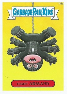 2014 Topps Garbage Pail Kids Series 2 Art Variations 132a Eight Armand