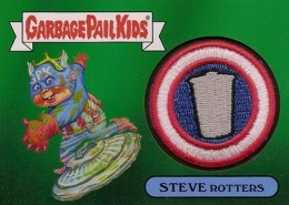 2014 Topps Garbage Pail Kids Series 2 Patch Steve Rotters