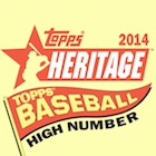 2014 Topps Heritage High Number Baseball Cards