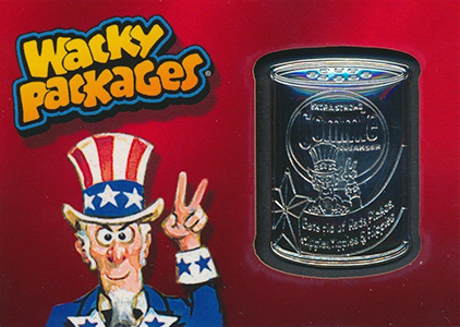 2014 Topps Wacky Packages Series 1 Medallion