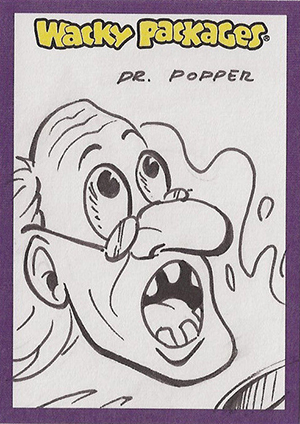 2014 Topps Wacky Packages Series 1 Sketch Card