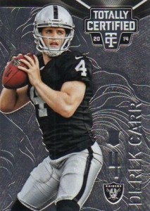 Derek Carr Rookie Card Gallery and Checklist 18