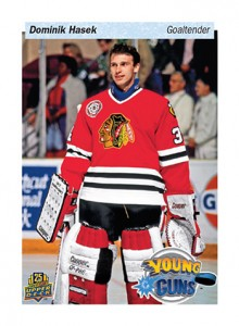 2014 Upper Deck 25th Anniversary Young Guns Tribute Dominik Hasek