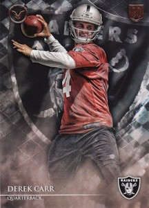 Derek Carr Rookie Card Gallery and Checklist 37