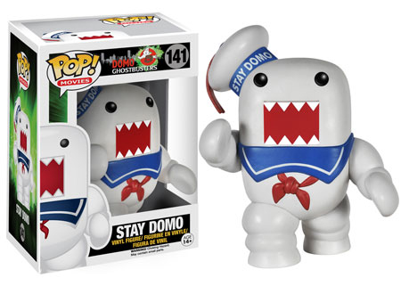 2015 Funko Pop Domo Ghostbusters 141 Stay Domo