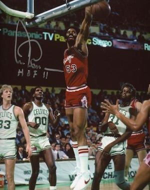 Artis Gilmore Chicago Bulls Signed Photo