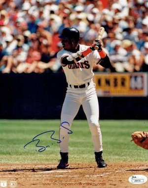 Barry Bonds San Francisco Giants Signed Photo
