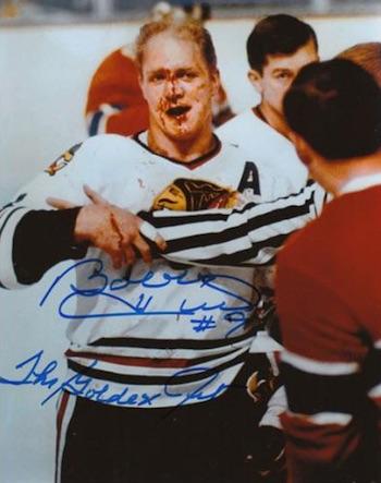 Bobby Hull Chicago Blackhawks Signed Photo