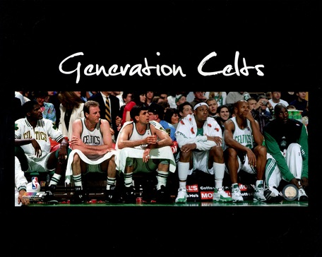 Boston Celtics Generational Celts Photograph