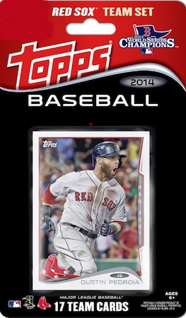 Boston Red Sox Team Card Set
