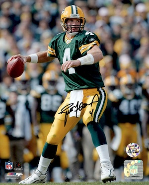 Brett Favre Green Bay Packers Signed Photo