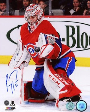 Carey Price Montreal Canadiens Signed Photo