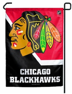 Chicago Blackhawks Garden Flag