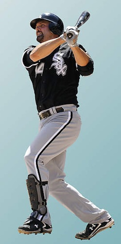 Chicago White Sox Fathead Paul Konerko