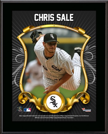 Chris Sale Chicago White Sox Plaque