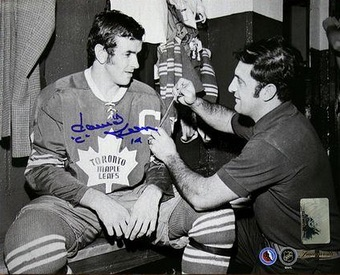 Dave Keon Toronto Maple Leafs Signed Photo