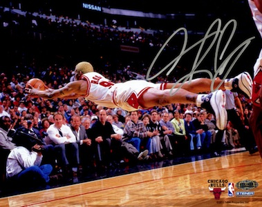Dennis Rodman Chicago Bulls Signed Photo