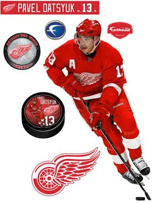 Detroit Red Wings Fathead Datsyuk