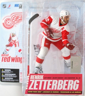 Detroit Red Wings Mcfarlane Zetterberg