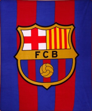 FC Barcelona Fleece Blanket