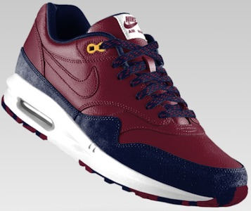 FC Barcelona Nike Air Max 1 iD side