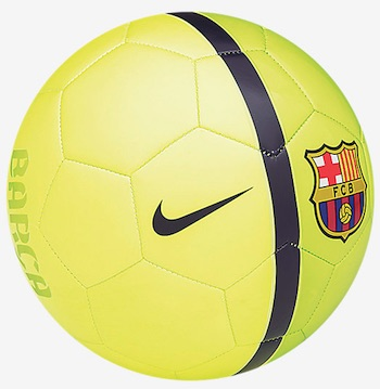 FC Barcelona Team Ball