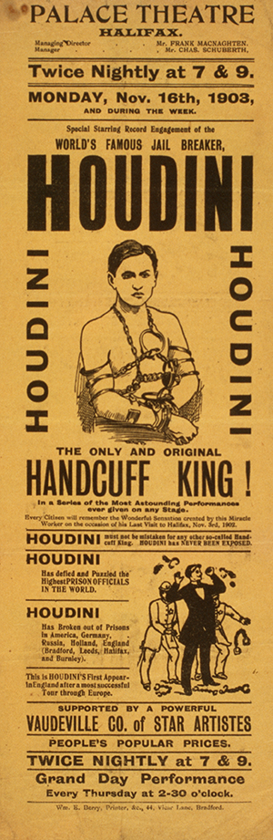 Top 10 Harry Houdini Collectibles 8
