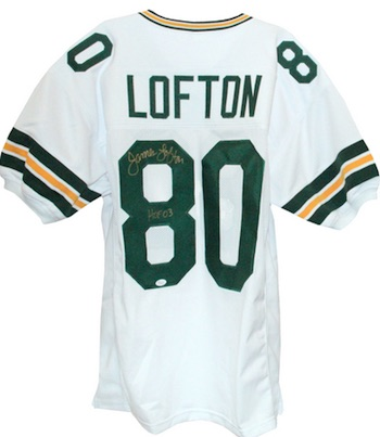 James Lofton Green Bay Packers Signed Jersey