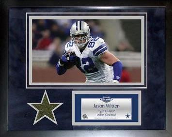 Jason Witten Dallas Cowboys Mini Turf Collage