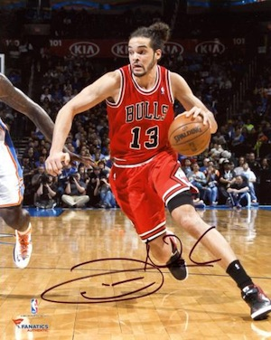 Joakim Noah Chicago Bulls Signed Photo