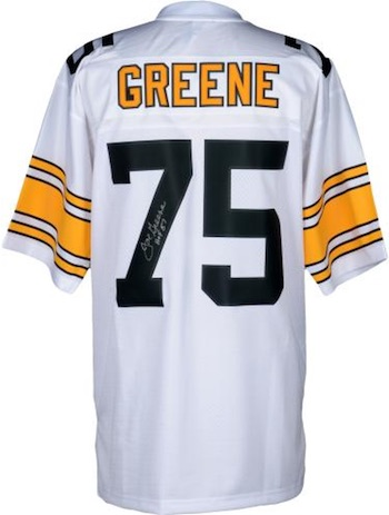 Joe Greene Pittsburgh Steelers Signed Jersey