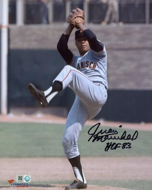 Juan Marichal San Francisco Giants Signed Photo
