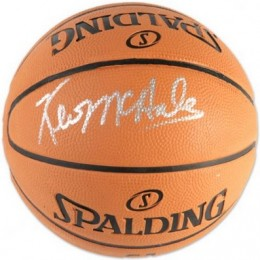 Kevin McHale Boston Celtics Signed Mini Basketball