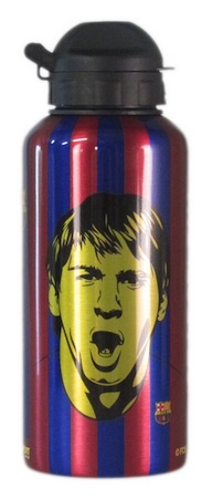 Lionel Messi FC Barcelona Aluminum Bottle 2