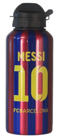 Lionel Messi FC Barcelona Aluminum Bottle