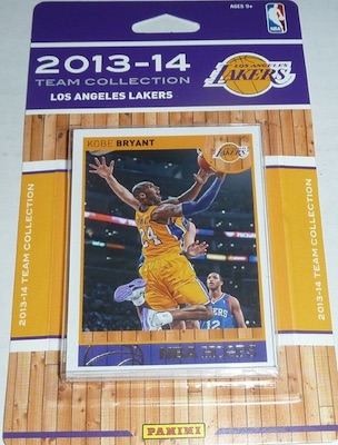 Los Angeles Lakers Team Card Sets