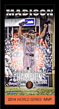 Madison Bumgarner San Francisco Giants Framed Wall Art