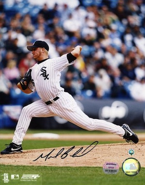 Mark Buehrle Chicago White Sox Signed Photo