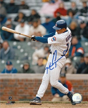 Mark Grace Chicago Cubs Signed Photo