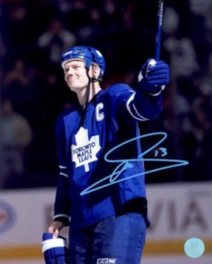 Mats Sundin Toronto Maple Leafs Signed Photo