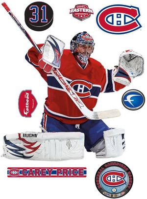 Montreal Canadiens Fathead Carey Price