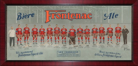 Montreal Canadiens Framed Frontenac Photo