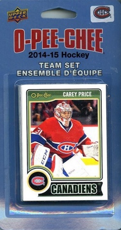 Montreal Canadiens Team Card Sets