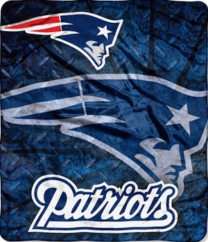 New England Patriots Fleece Blanket