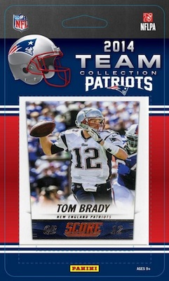 New England Patriots Football Card Set